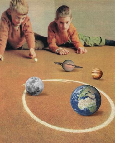 giocare a biglie con il sistema solare