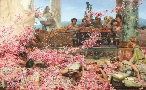 Lawrence-Alma-Tadema-Le-rose-di-Eliogabalo-1888-
