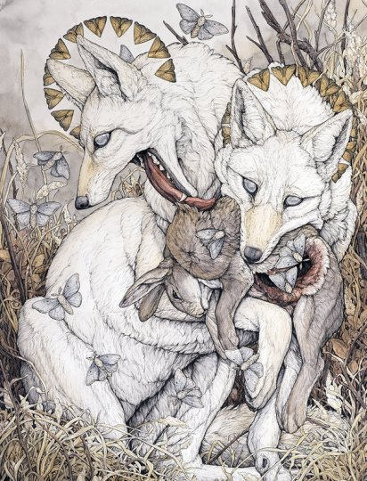 non c'è paura che il lupo non sappia fiutare