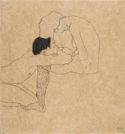egon-schiele-liebende-(lovers)
