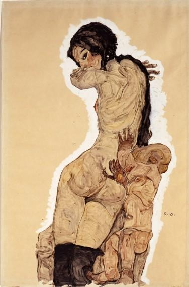 Impronte che per Egon rappresentavano una vita composta di traumi e tristezza, ma che riflettevano anche l'anima della Secessione Viennese