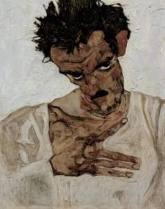 Mancanze che Schiele rende finalmente visibili, proprio come la pelle dalle molteplici impronte.