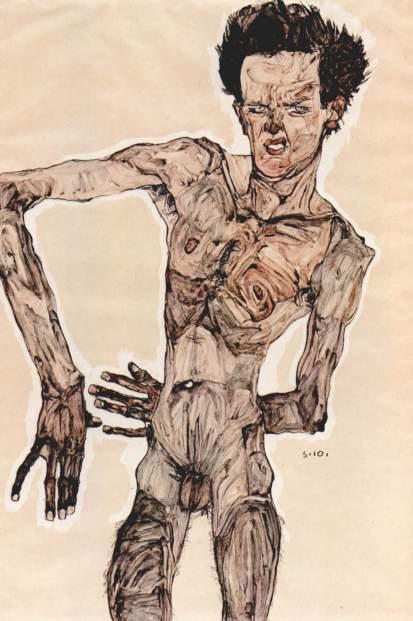 Un'anatomia apparentemente impossibile, tutta contorta, in posizioni scomode e circondate da un aura di deperimento meccanico.