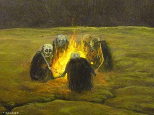 Sono guardiani del nulla, reduci da un mondo fondato sulla massa, ben lontani dal ritrovare una qualche iindividualità.