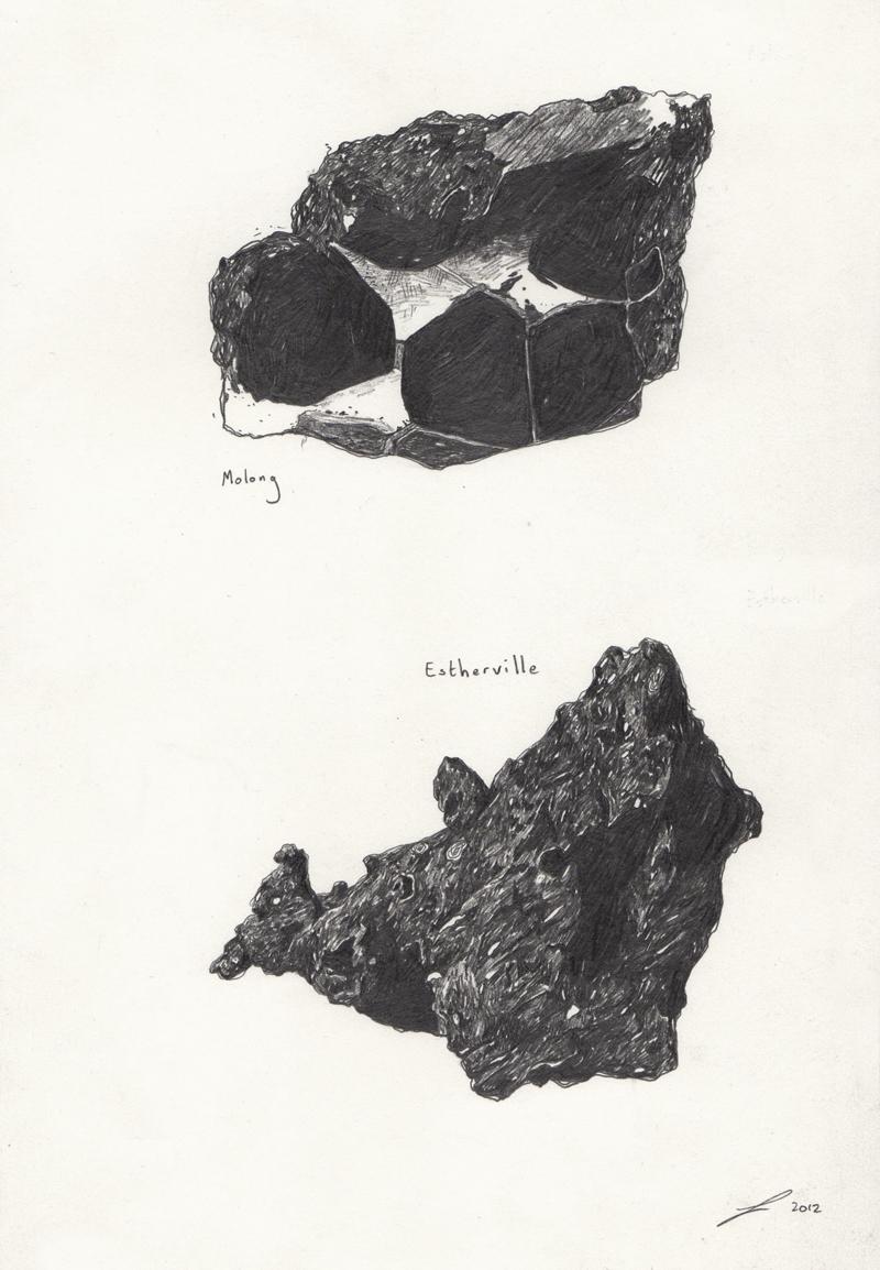 è il guardare dei comuni sassi e vederci dei minerali, delle pietre che possono ricordare gli odori del muschio una volta a casa