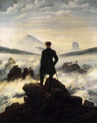 2 del sublime romantico di Caspar Friedricheuna vastita che sa di claustrofobia annegamento assideramento e insieme quiete Quiete piacevole e soffocante sterminata in confronto a noi