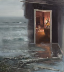 e proprio attraverso quel ricordo, quella porta spalancata,