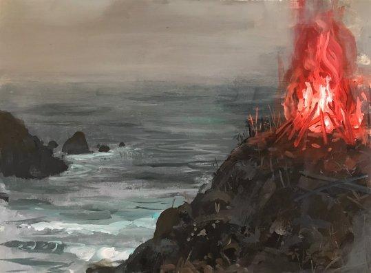 Tutti gli elementi si trasformano assieme all'ambiente le montagne diventano fuoco