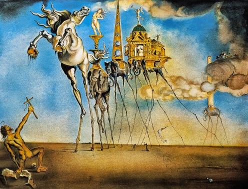 La tentación de An Antonio, Dalí, 1946