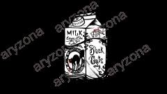 POE'S MILK HD black and white DEFINITIVO con watermark