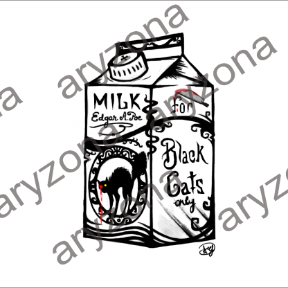 POE'S MILK HD black and white DEFINITIVO con watermark