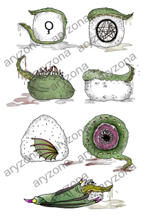 WATERMARK CTHULHU'S SUSHI VERTICALE