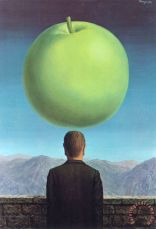 The Postcard 1960 Painting by rene magritte; The Postcard 1960 Art Print for sale