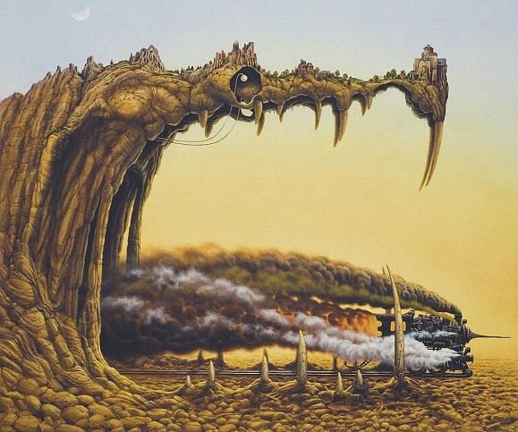 talvolta parti stesse del mondo che abitano, come guardiani silenti, antichi quanto l'universo
