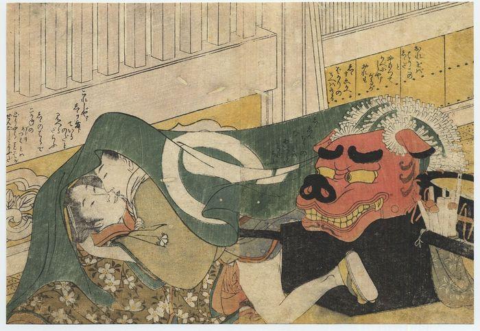 6 ritraenti la vita del kotaishi, principe ereditario che si dava ai piaceri erotici nel suo palazzo di primavera.