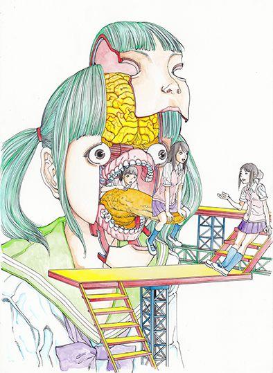 7.2 il suo e' un mondo di caramelle e puzzle di carne, arcobaleni e pericolosi automatismi.