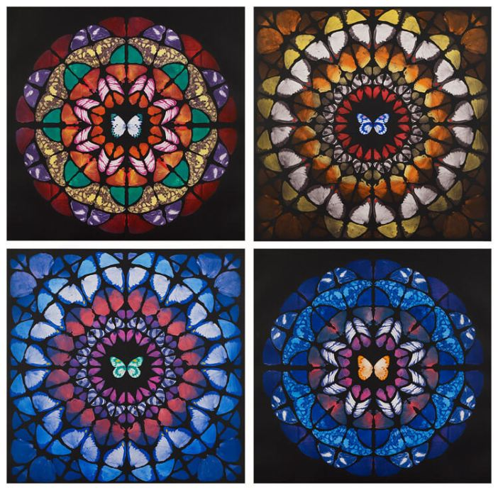 14.1 e queste ali possono a loro volta trasformarsi in rosoni di cattedrali gotiche
