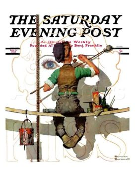 2.1 un cantastorie che con le sue illustrazioni ha fatto prendere vita al Saturday Evening Post, un Maestro dell'Età dell'Oro dell'Illustrazione