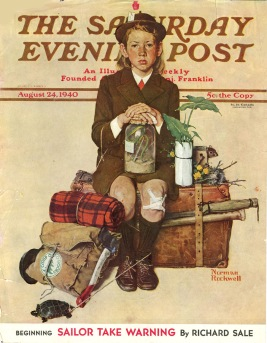 2.2 un cantastorie che con le sue illustrazioni ha fatto prendere vita al Saturday Evening Post, un Maestro dell'Età dell'Oro dell'Illustrazione
