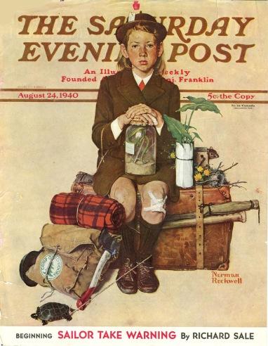 2.2 un cantastorie che con le sue illustrazioni ha fatto prendere vita al Saturday Evening Post, un Maestro dell'Età dell'Oro dell'Illustrazione