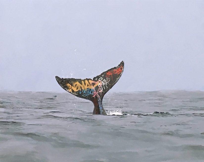 28 Tramite la sua arte digitale Josh Keyes ci mostra l_aspetto metropolitano degli oceani e delle terre emerse,